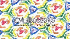 Caleidoscopio; Diversos colores, los mismos derechos (2013)